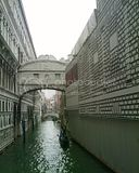 the bridge of sighs - named so because the sighs of the prisoners could be heard as they were being led over the bridge from the palace courtroom to the prison where they would be tortured and put to death